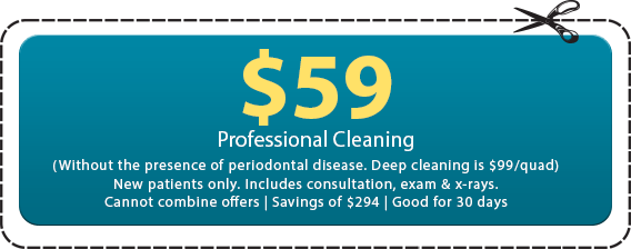 $59 Professional Cleaning